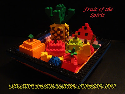LEGO Fruit of the Spirit - Using LEGOS to learn about the Bible