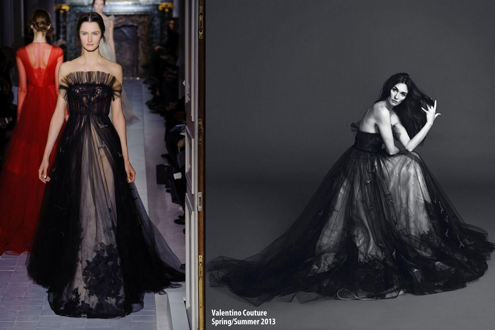 Famous Valentino Black Gown Photos - Best Evening Gown Inspiration ...