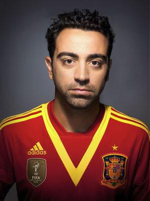 camiseta selección española 2013 Copa Confederaciones Xavi