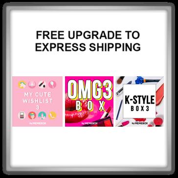 Memebox Special #42 OMG 3 #43 K-Style 3 Superbox #61 My Cute Wishlist 3 valueset 미미박스 Commercial