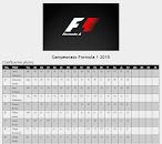 Formula 1 - Clasificación