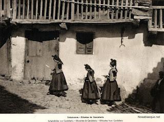 Siluetas de Candelario Salamanca de ortiz echague