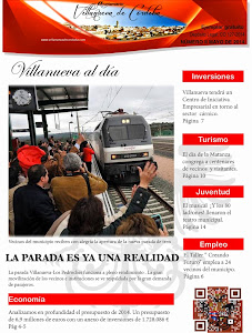 """Ya puedes leer la segunda edición impresa del Nº 2 de la revista """"Villanueva al día"""""""