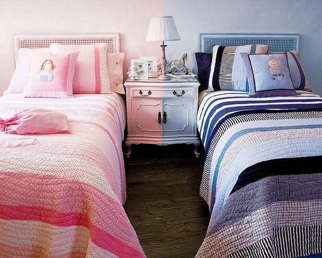 Mis mellizos y yo: Dormitorios Gemelares con Dos Camas