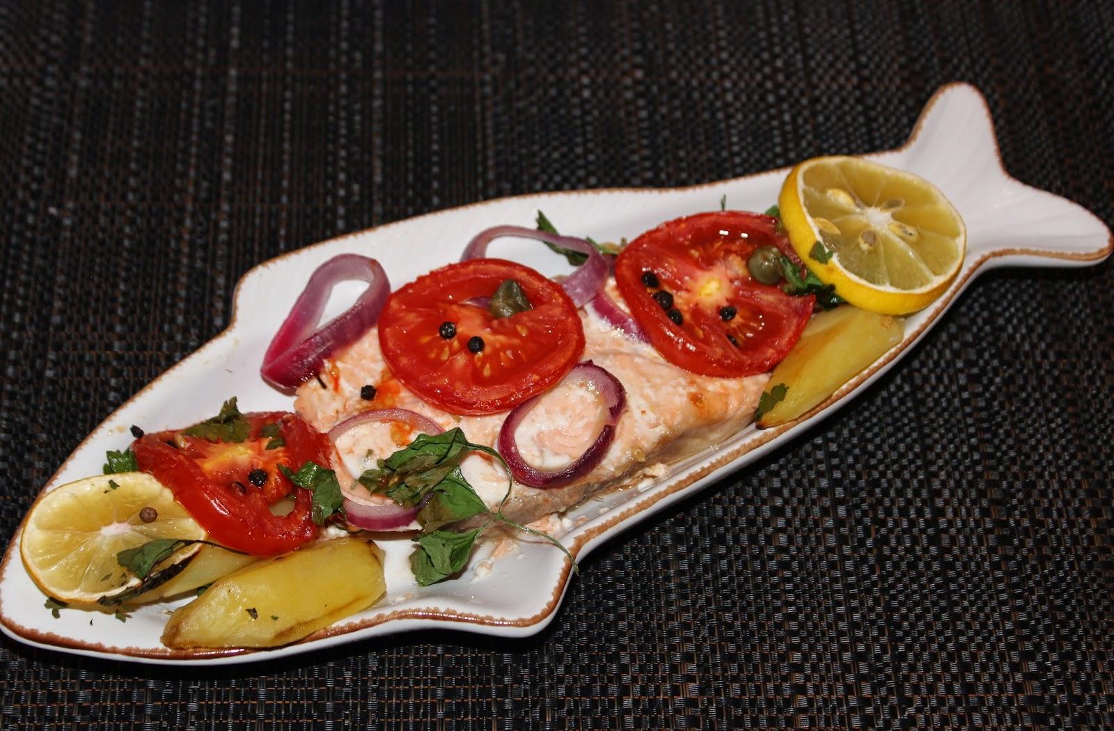 Portakallı Somon Balığı Tarifi