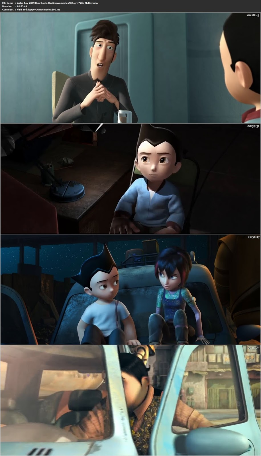 Astro Boy 2009 Dual Audio Hindi Full Movie BluRay 720p at 9966132.com