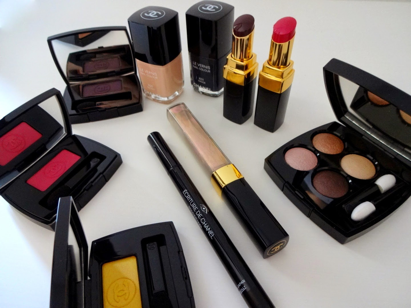 chanel make up autunno 2014, chanel etats poetiques collection, chanel les 4 ombres poesie, chanel le vernis