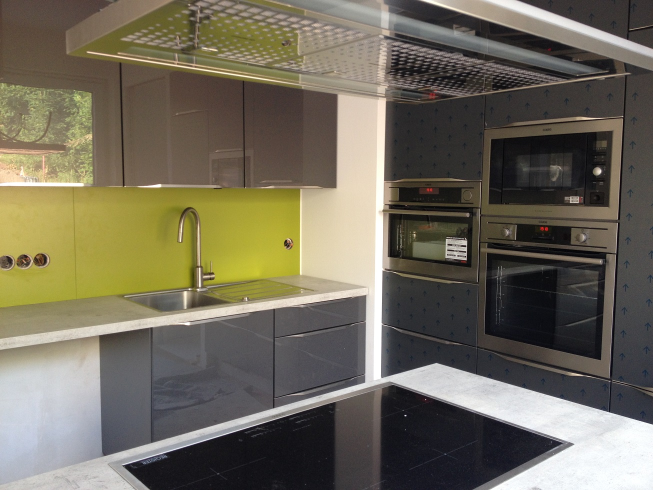Wir bauen ein Haus - Unser Bautagebuch : Parkett und Küche