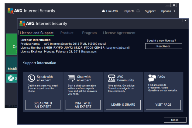 crack avg internet security 2013