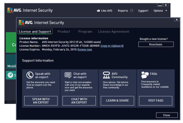 AVG Internet Security 2013 Full Serial-2018 | Download Free