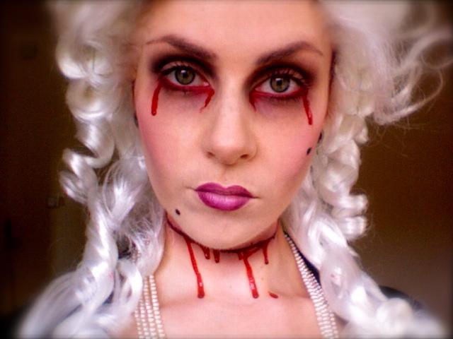 Макияж на хэллоуин своими руками видео призрак