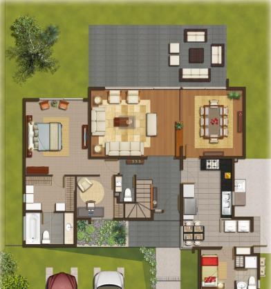 Planos de casas modelos y dise os de casas plano de casa - Modelos de casas de dos plantas ...