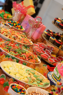 Shakeys Party Dessert Table