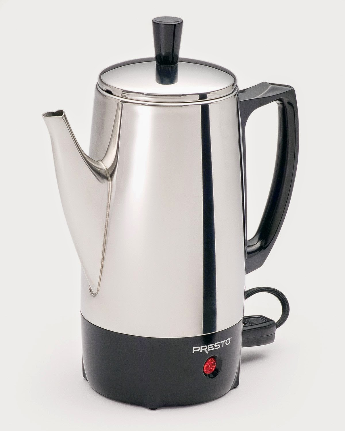 National Presto Ind 02822 6 Cup Stainless Steel Percolator