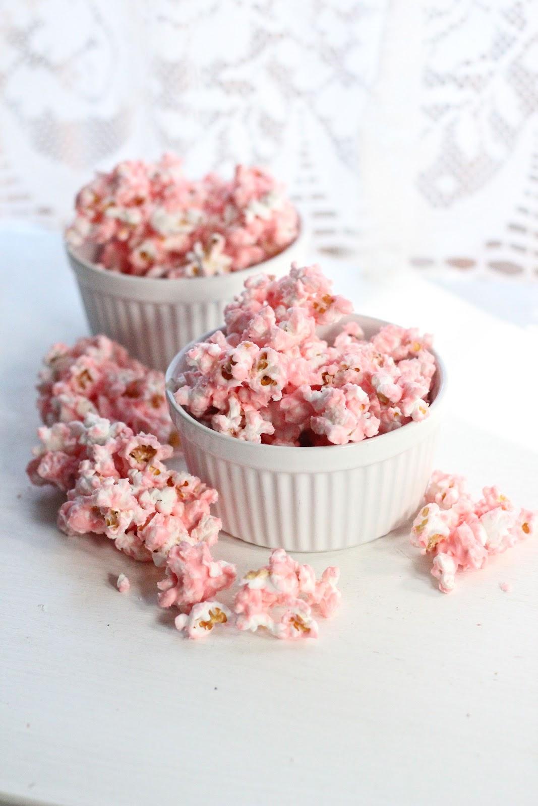 White Chocolate Popcorn Eat Good 4 Life