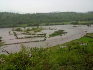 Banjir Besar Rusak  Lahan Pertanian di Wera