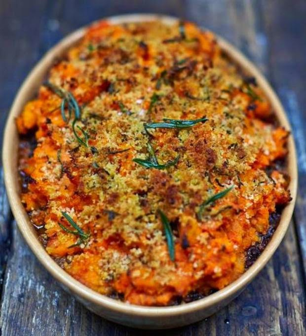 http://www.jamieoliver.com/recipes/vegetables-recipes/vegan-shepherd-s-pie/