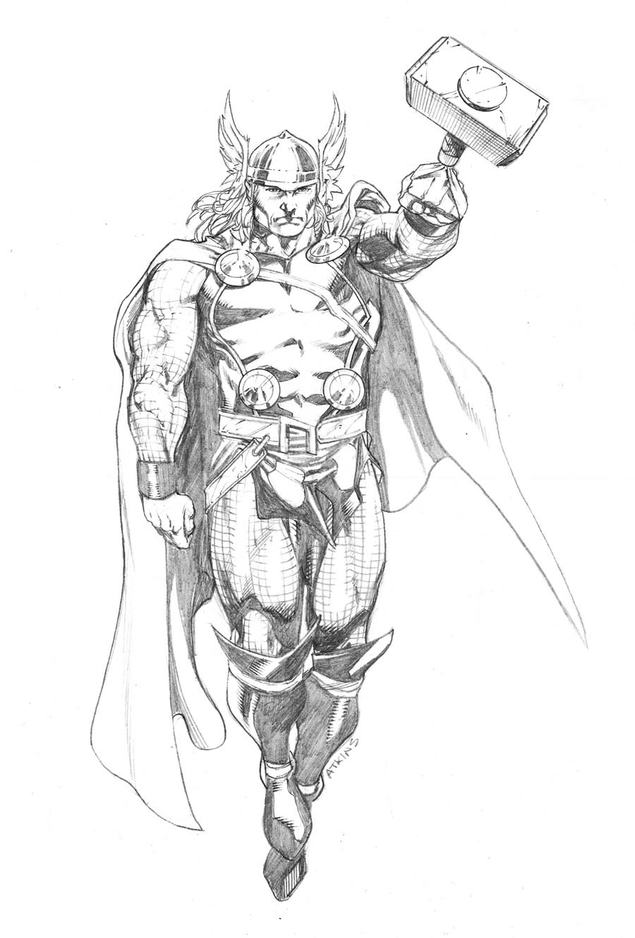 Thor Drawings In Pencil Images amp Pictures Becuo