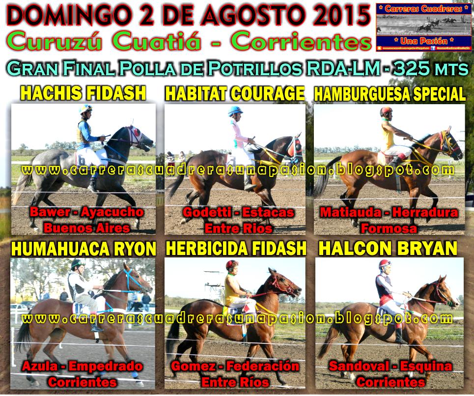 C. CUATIA - FINAL DE POTRILLOS