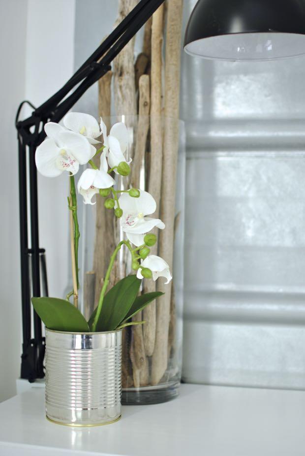 hannashantverk.blogspot.se sovrum drivved orkide pannplåt