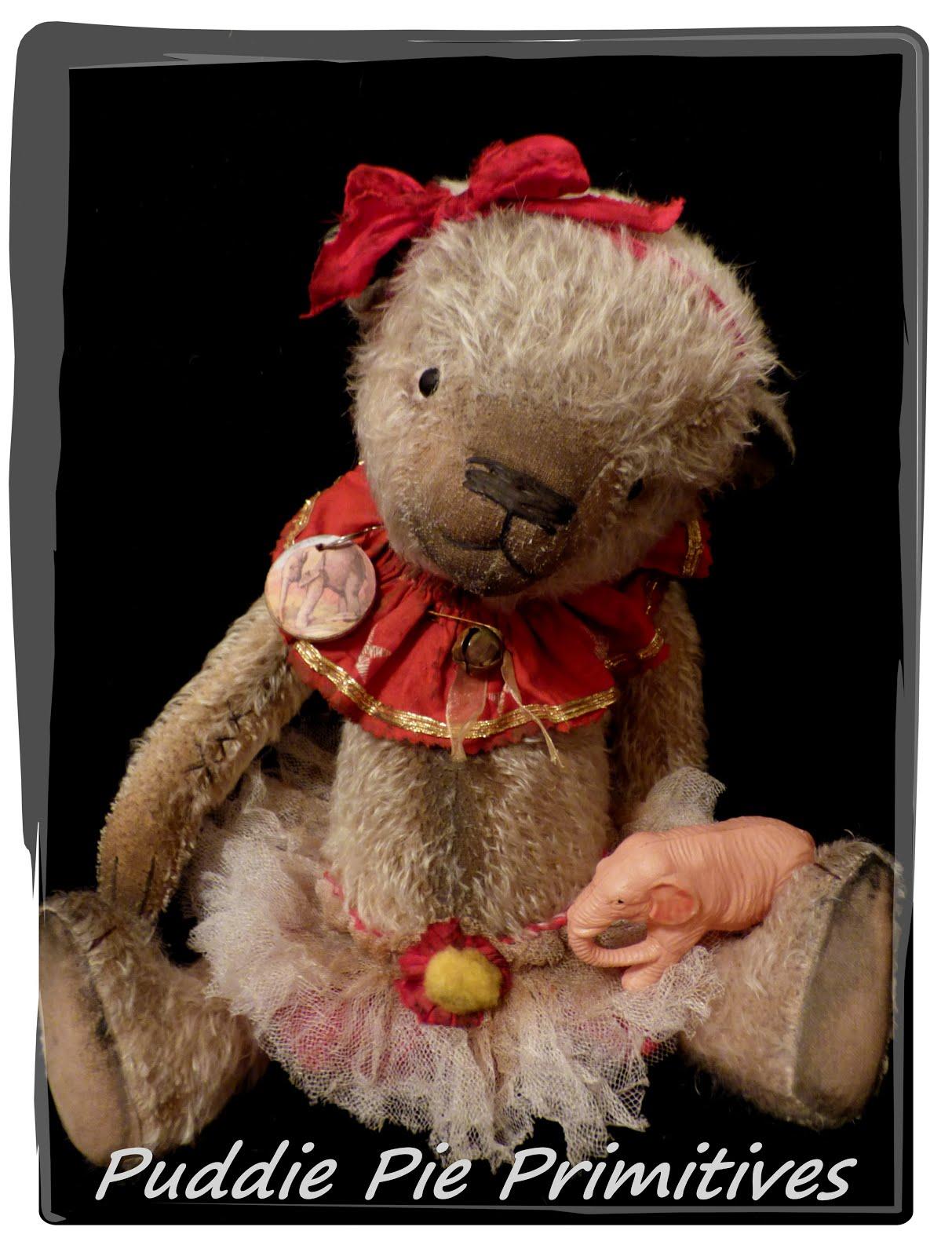 Audrey Mohair Bear