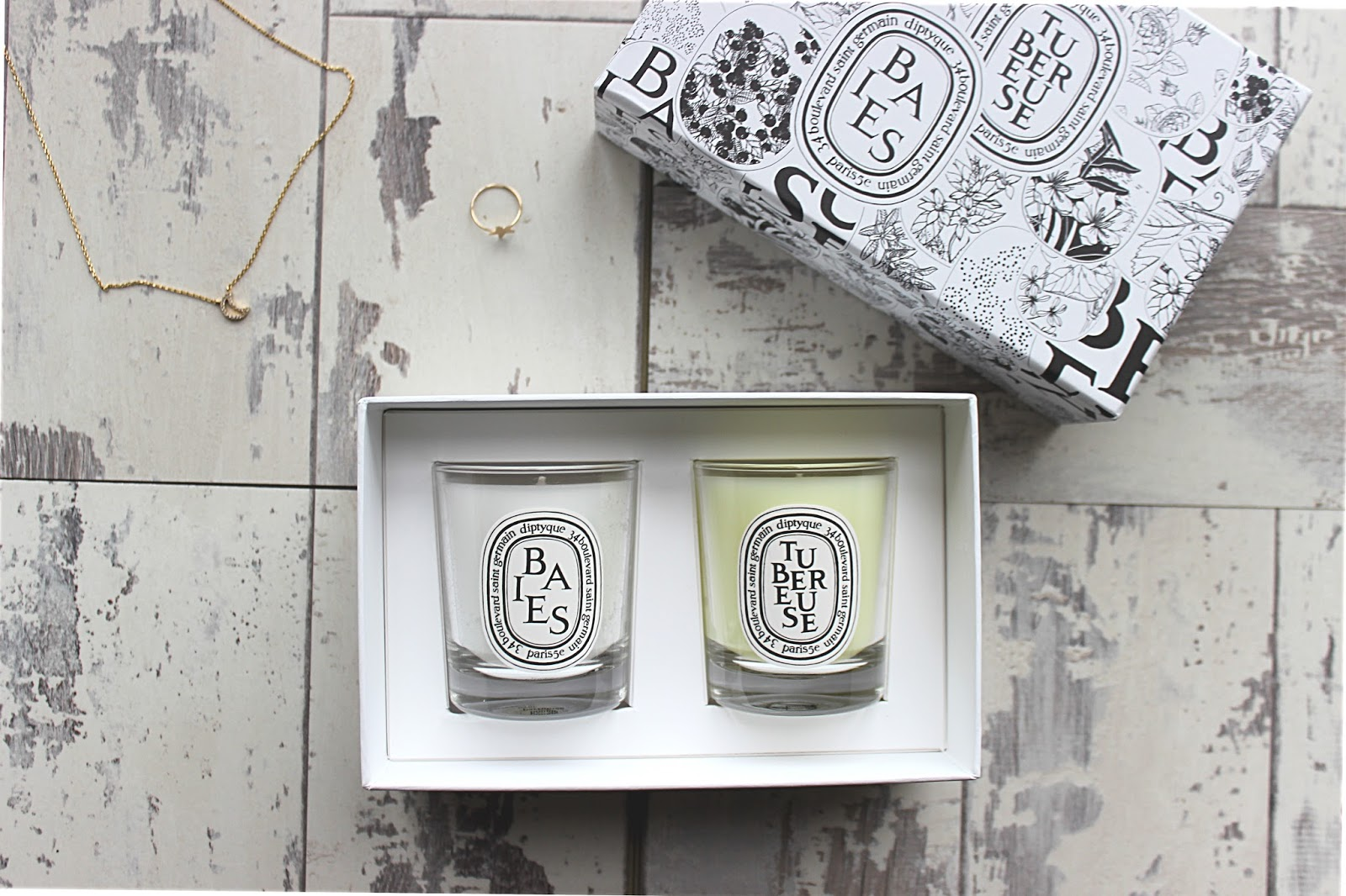Diptyque Candle Giftset