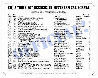 KHJ Boss 30 No. 45 - May 11, 1966