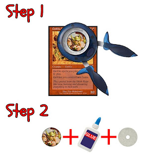 2 Easy steps to making a hefty paper miniature