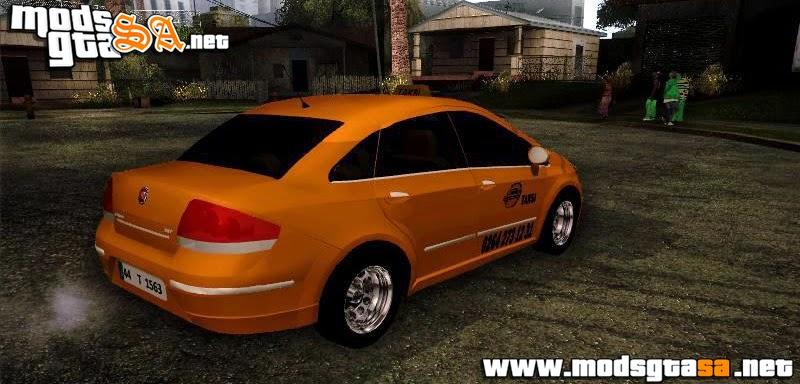 SA - Fiat Linea Taxi