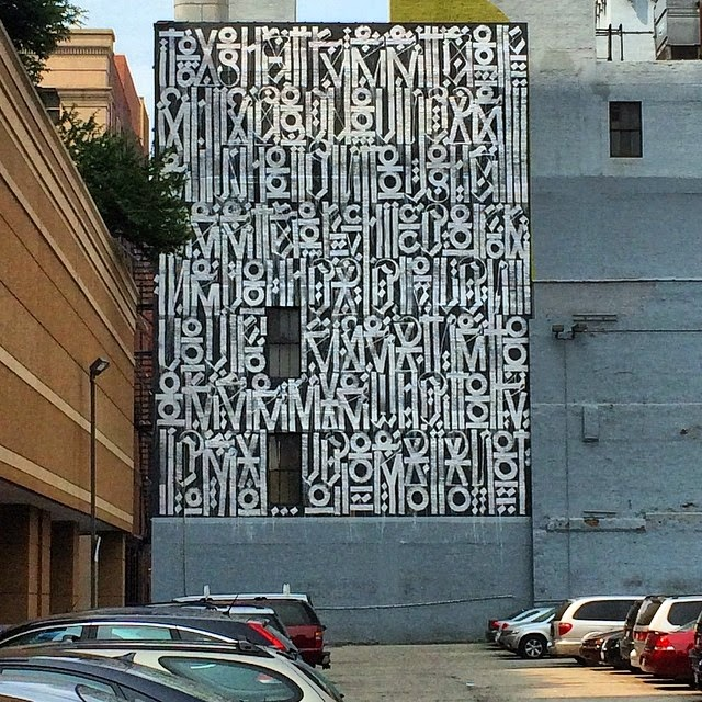 RETNA is also in Chicago for Lollapalooza and The Provocateurs where he worked his magic on this new piece.