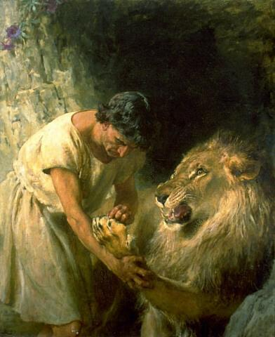 Children Stories: lion and the slave story