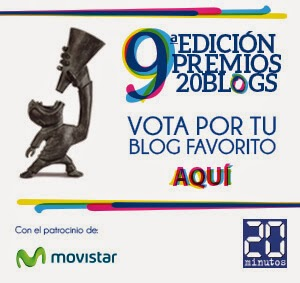 PREMIOS BLOGS 20 MINUTOS