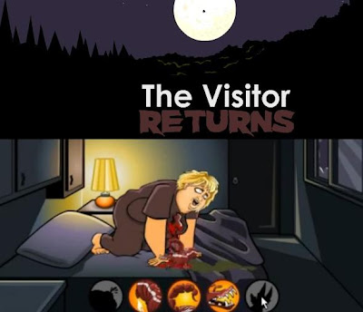 The Visitor Returns walkthrough all endings.