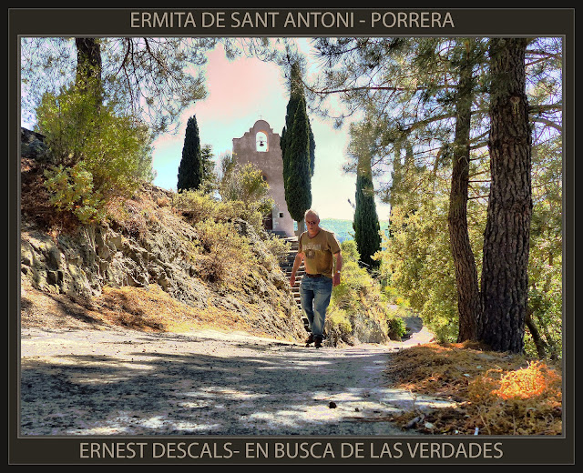 PORRERA-ERMITA SANT ANTONI-PRIORAT-CATALUNYA-BUSCA DE LAS VERDADES-FOTOS-ERMITAS-PINTOR-ERNEST DESCALS