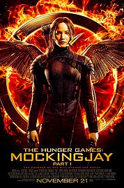 poster of the hunger games: mockingjay part I