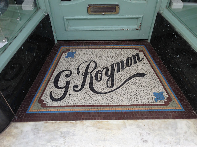 Doorway mosaic, Brighton