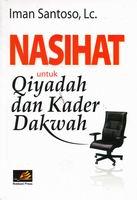 rumah buku buku dakwah nasihat untuk qiyadah dan kader dakwah toko buku online