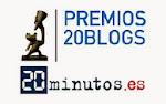 FINALISTAS EN LOS PREMIOS 20BLOGS 2.014
