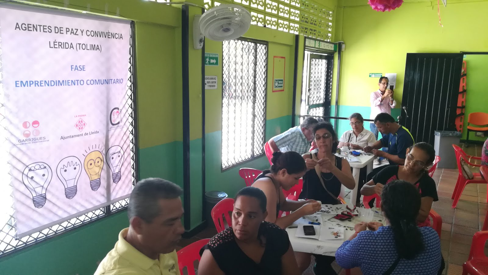 Continuaron los talleres para los líderes de Lérida