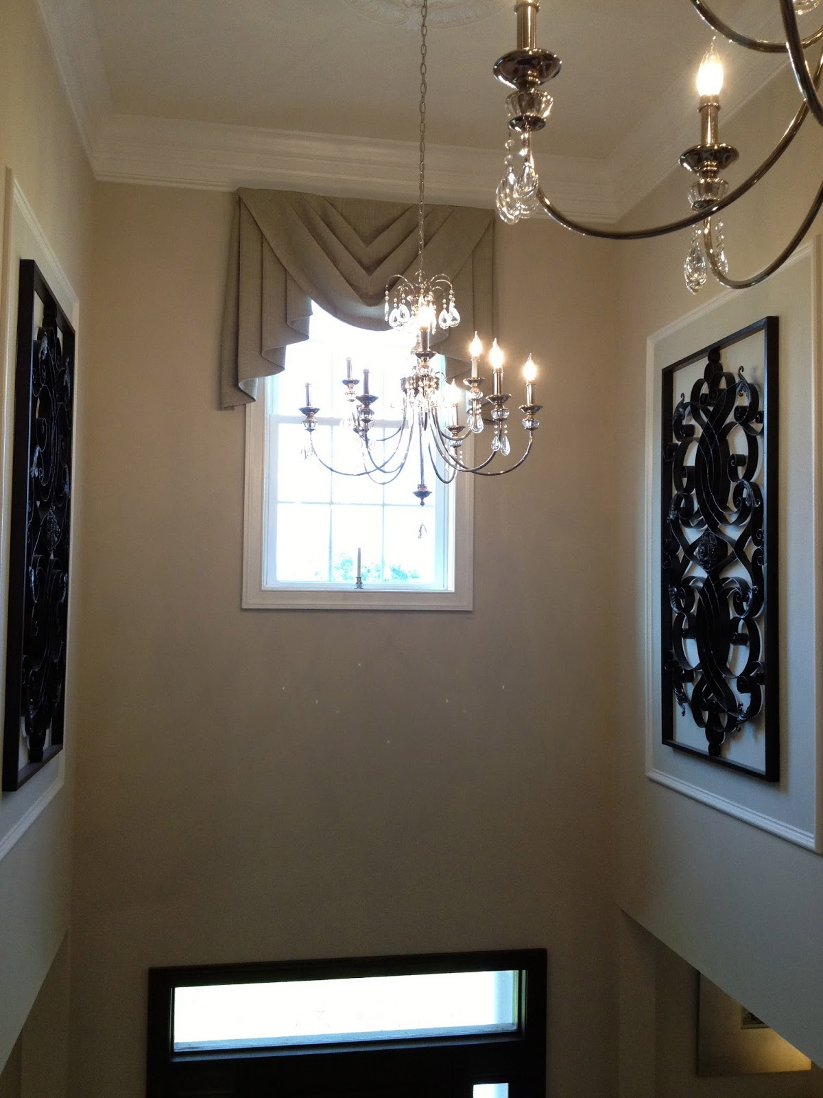 Two Story Foyer Trim Work : What s buzzin we re building a savoy with ryan homes