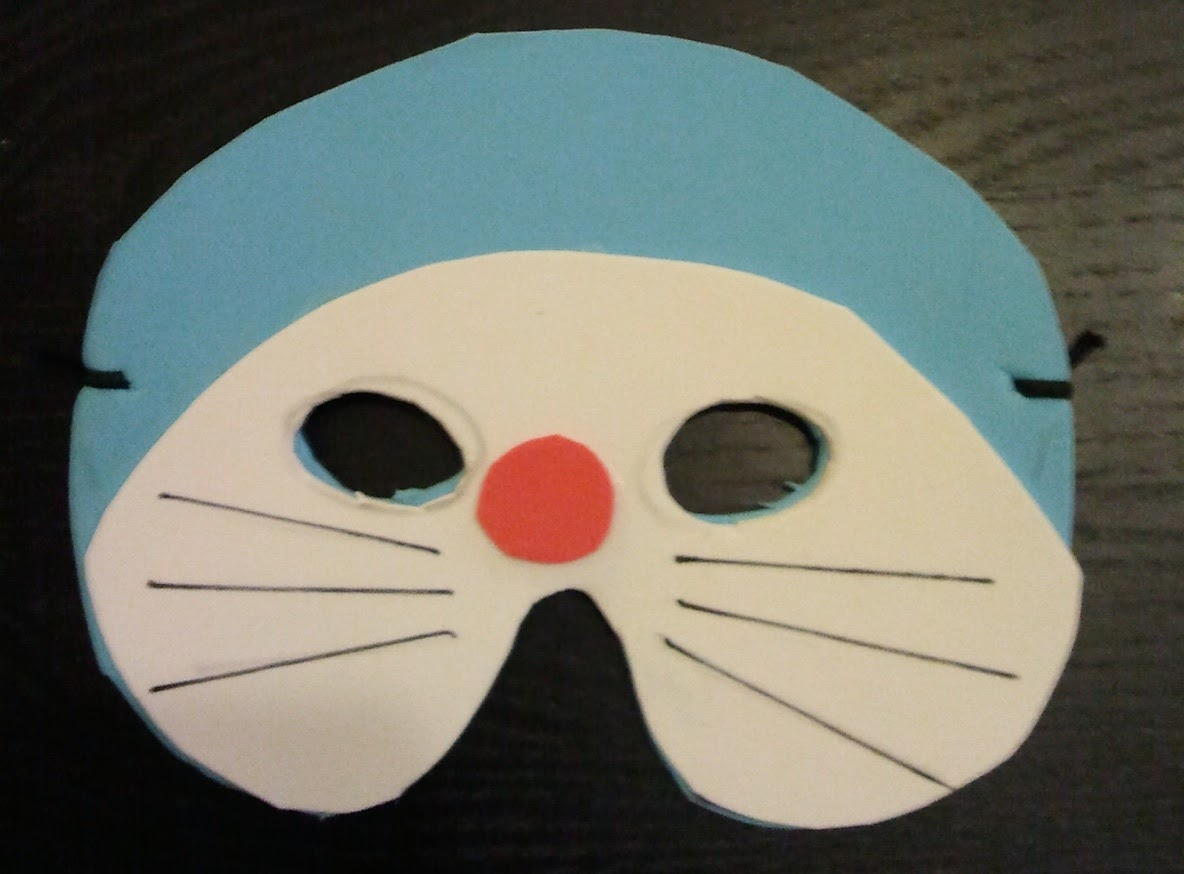 Chimpón y se cosió!: Caretas hechas con Foam (goma eva)
