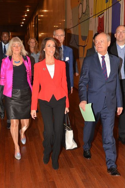 Princess Marie Attended UNESCO Conference In Paris