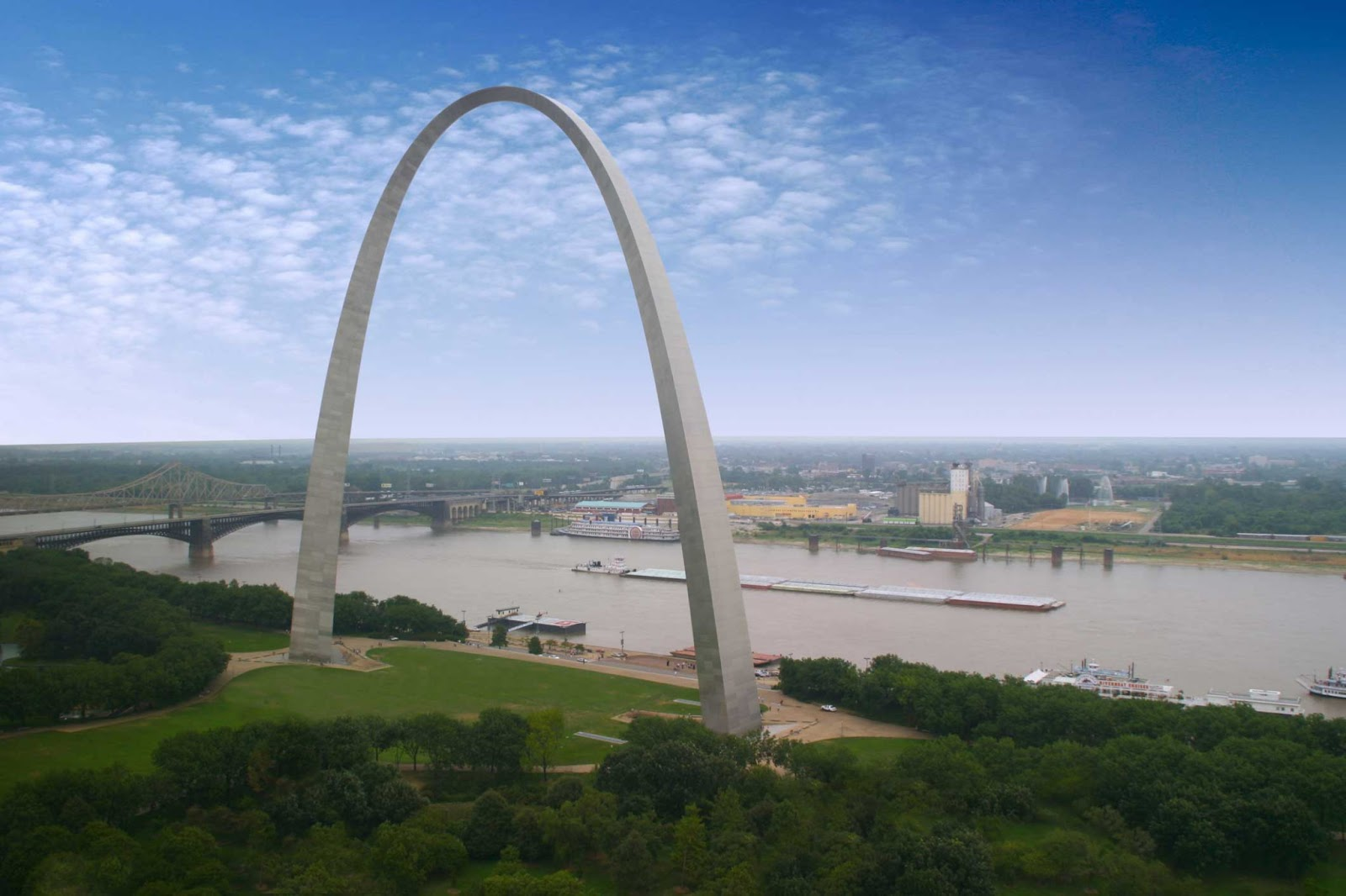 World wondering preview the gateway arch for St louis architecture