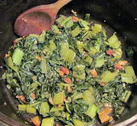Vitaminna Vitamin Greens with garlic & fatback