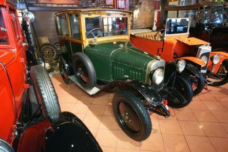 0 km,  1922 model Charron