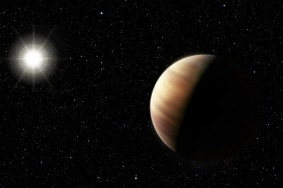 Descubren un planeta similar a Júpiter pero más joven.