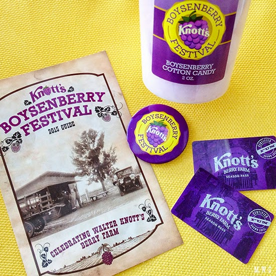 Boysenberry Festival at Knott's Berry Farm