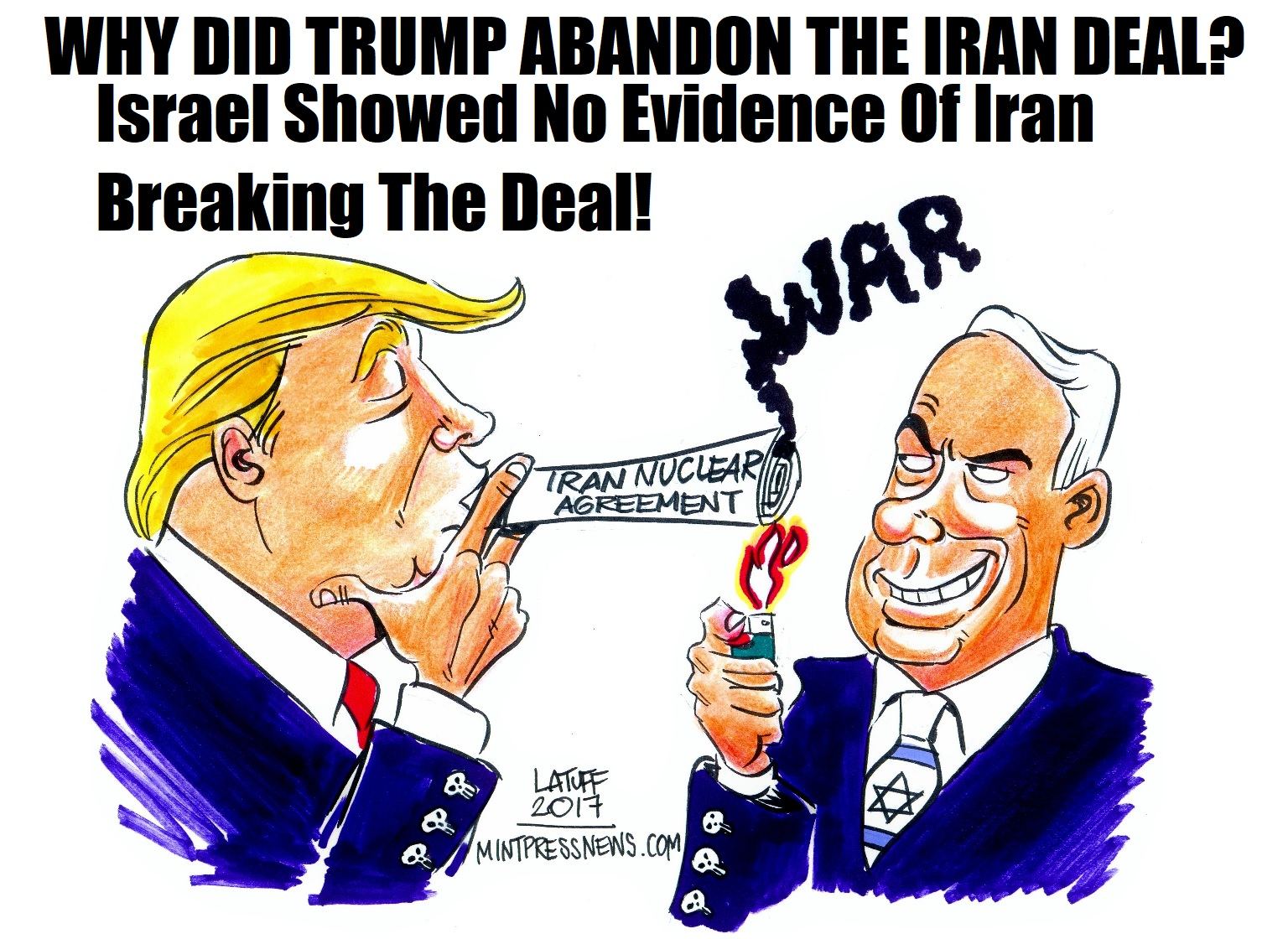 Was it truly a bad deal, or was there influence coming from Israel?