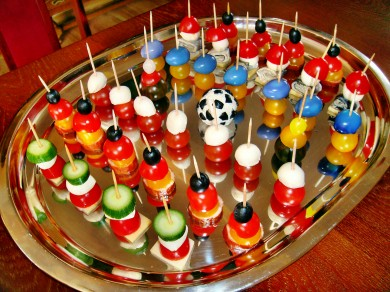 Koreczki kibica.EURO - 2012