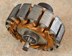 armature core of a DC generator